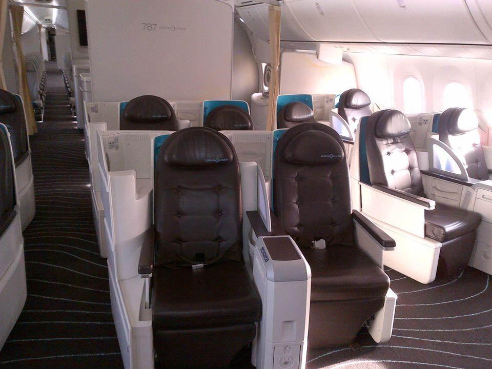 Anche neos ha scelto il boeing 787 dreamliner a dicembre for Manuale per la pulizia della cabina dell aeromobile
