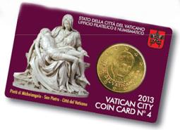 3dcd1bed1c Dal Vaticano arrivano le ultime monete del Pontificato di Benedetto ...