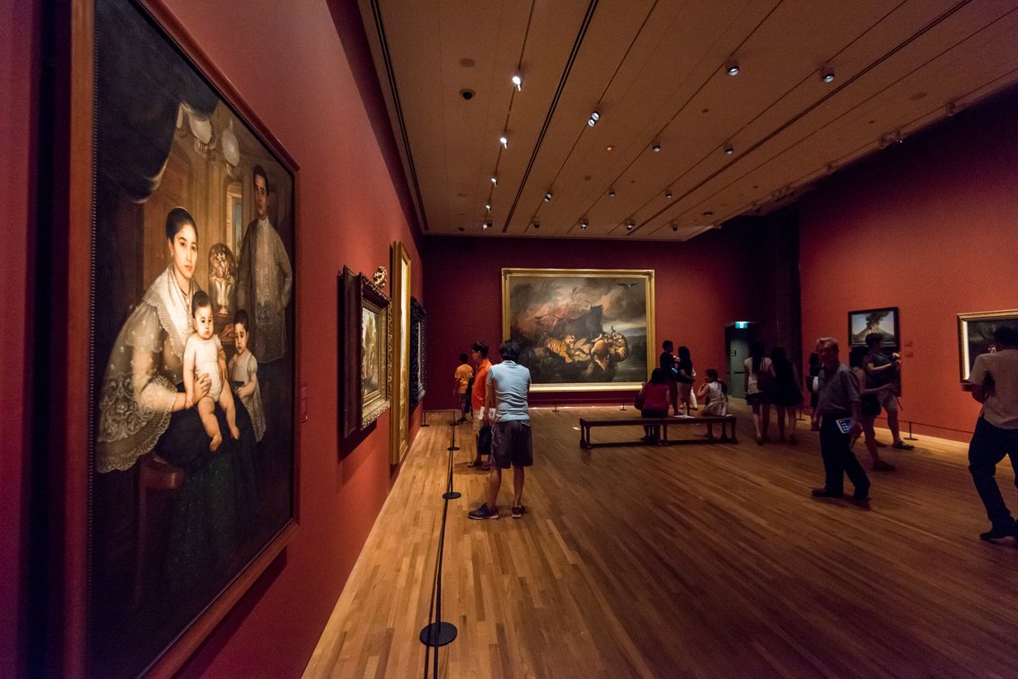 Singapore, la National Gallery (foto Singapore Tourism Board)