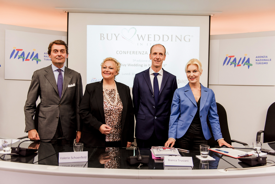 "Buy Wedding Italy: a Bologna arrivano gli specialisti del ""Destination Wedding"", a novembre 35 buyers da 18 nazioni"