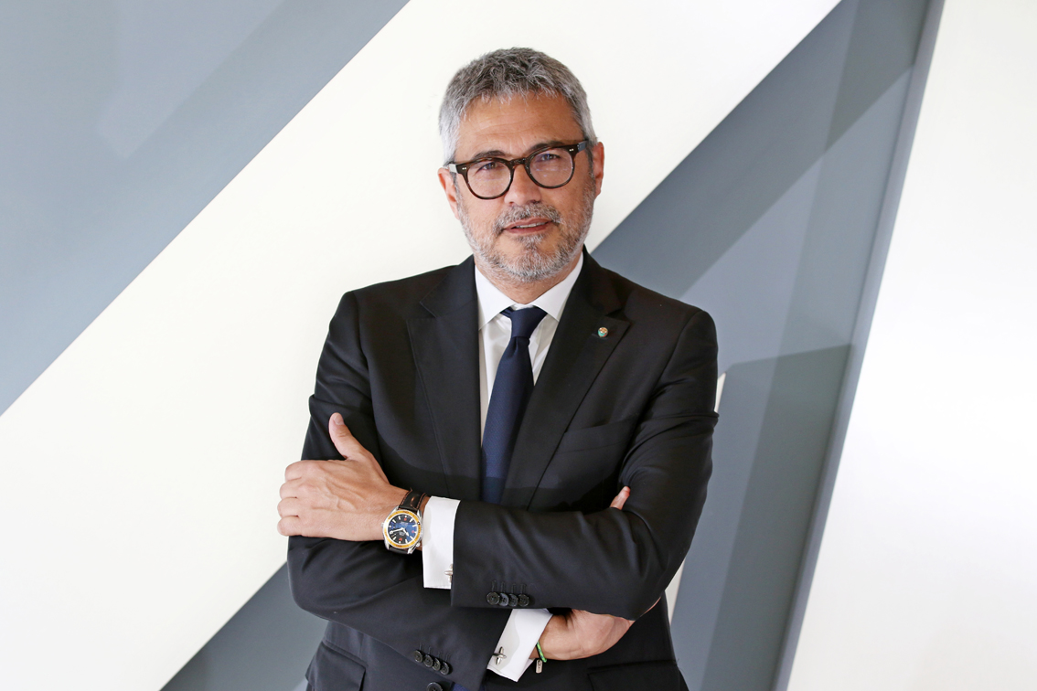 Il chief Business Officer di Alitalia, Fabio Maria Lazzerini