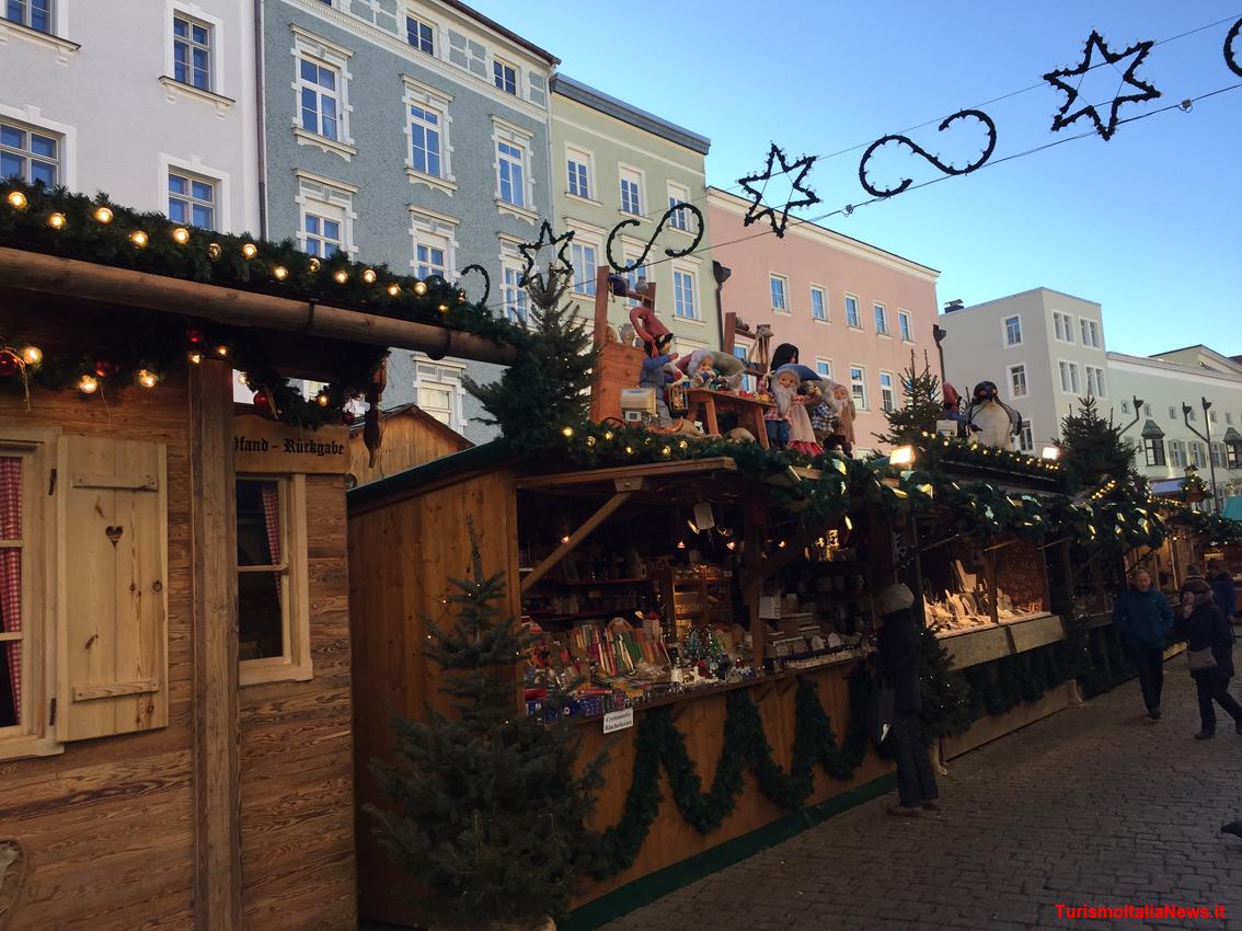 Wasserburg Am Inn Germania a rosenheim per il christkindlmarkt: nell'alta baviera i