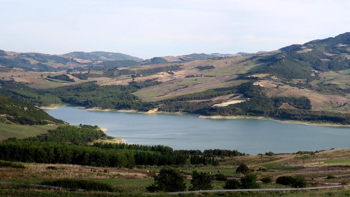 Il lago di Guardalfiera, Molise